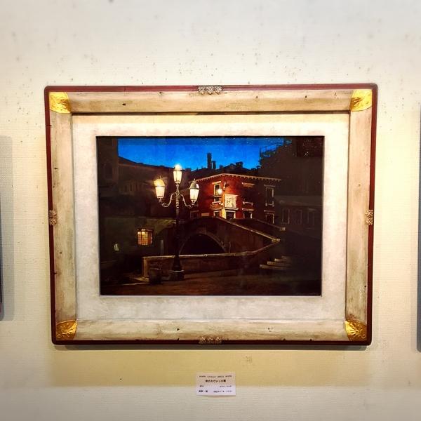 『夜のカヴァッロ橋』の画像
