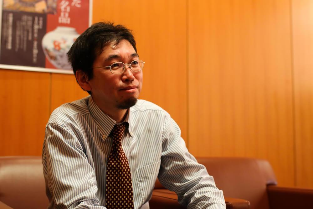 茨城県立天心記念五浦美術館 主席学芸員 中田智則さん 近影