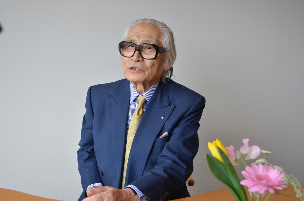 彫刻家 蛭田二郎さん